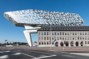 Havenhuis Antwerpen   Zaha Hadid Architects